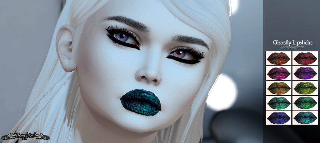 ~SongBird~ Ghastly Lipstick - TeleportHub.com Live!