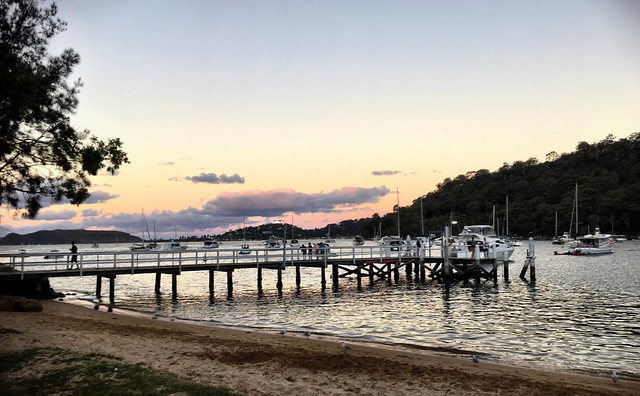 Dusk at The Basin. Pittwater.
