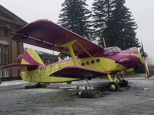 YL-CCF AN-2  Riga-Spilve 10-3-18