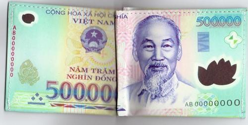 Viet Nam 500000 Dong Specimen Wallet