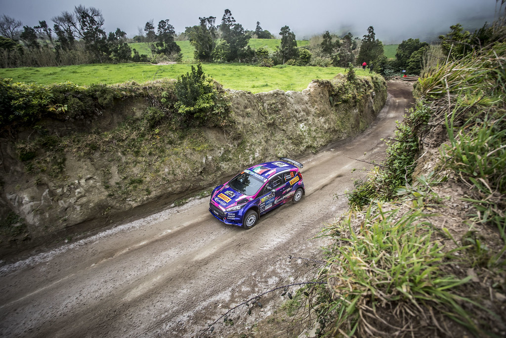 19 MOLINARO Tamara (ita), WYDAEGHE Martijn (bel), FORD FIESTA R5, action during the 2018 European Rally Championship ERC Azores rally,  from March 22 to 24, at Ponta Delgada Portugal - Photo Gregory Lenormand / DPPI