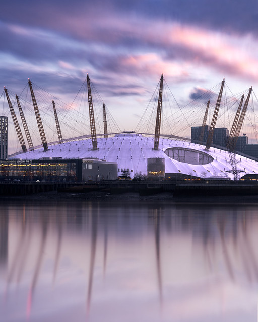 Pink Mormings Over The 02