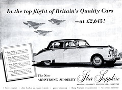 Armstrong Siddeley Star Sapphire (1959)