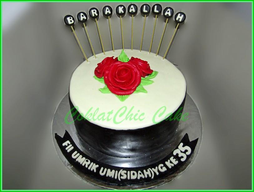 Cake Flower UMI SIDAH 18 cm