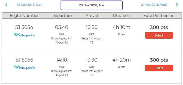 GetGo Triple Treat Manila to Tokyo November 20, 2018