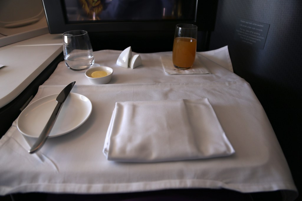 Virgin Australia business class 55