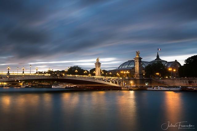 Pont Alexandre III & Grand Palais, Paris