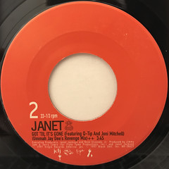 JANET:TOGETHER AGAIN(LABEL SIDE-B)