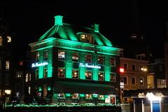 The Grasshopper pub by night