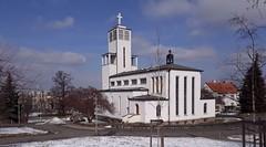Spořilov (Praha 4), kostel sv. Anežky