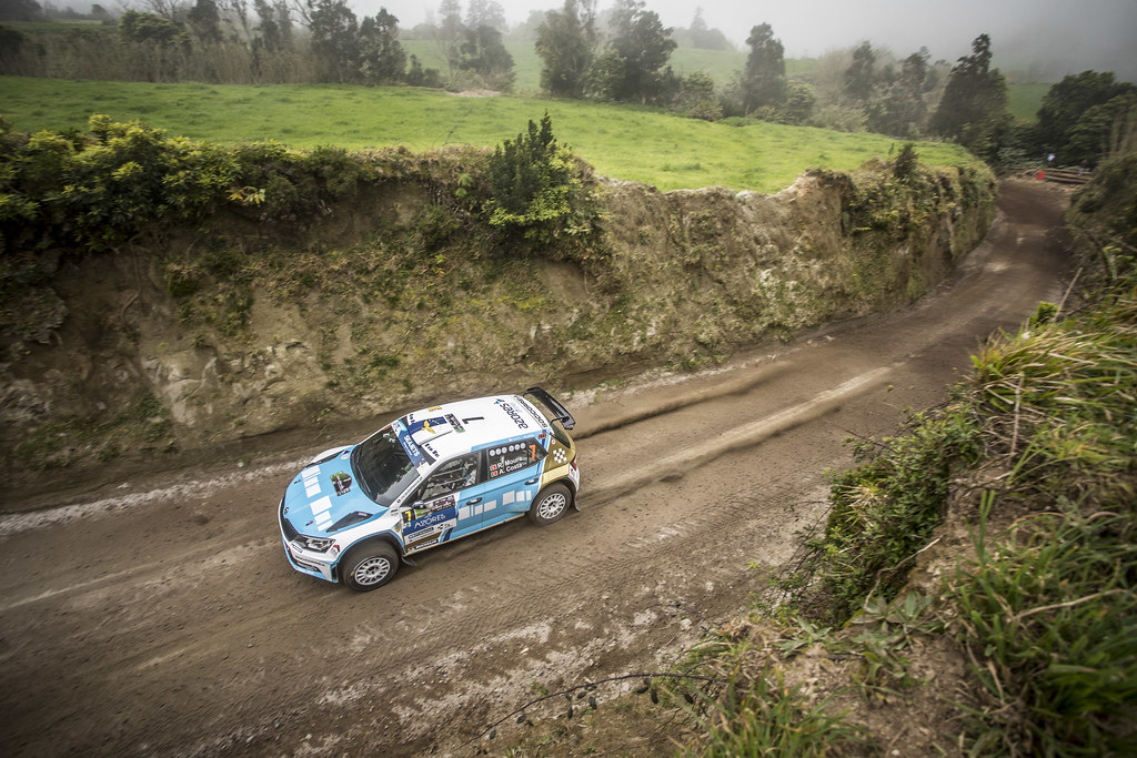 07 MOURA Ricardo (prt), COSTA Antonio (prt), FORD FIESTA R5, action07 MOURA Ricardo (prt), COSTA Antonio (prt), FORD FIESTA R5, portrait during the 2018 European Rally Championship ERC Azores rally,  from March 22 to 24, at Ponta Delgada Portugal - Photo Gregory Lenormand / DPPI