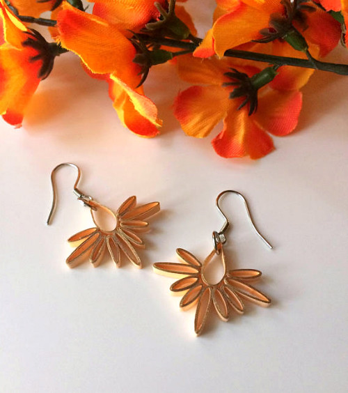 Quilled Minimalist Earrings