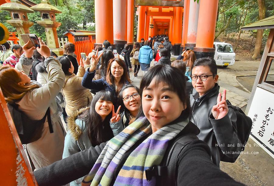 京都景點推薦 伏見稻荷神社 鳥居 怎麼去12