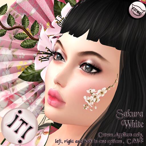 !IT! – Sakura – White Image