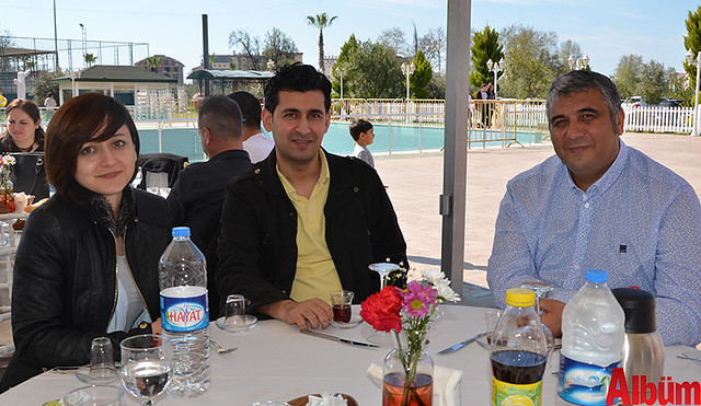 Kübra Akbaş, Murat Akbaş, Alanya Bil Koleji Kurucusu Erdal Sayi