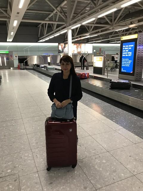 Heathrow Airport,  March 12, 2018
