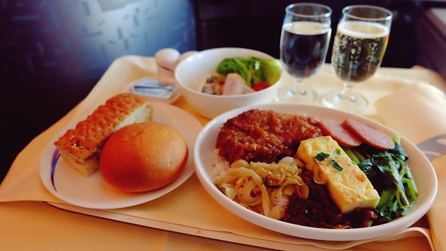 Business Class In-flight Meal - China Airlines