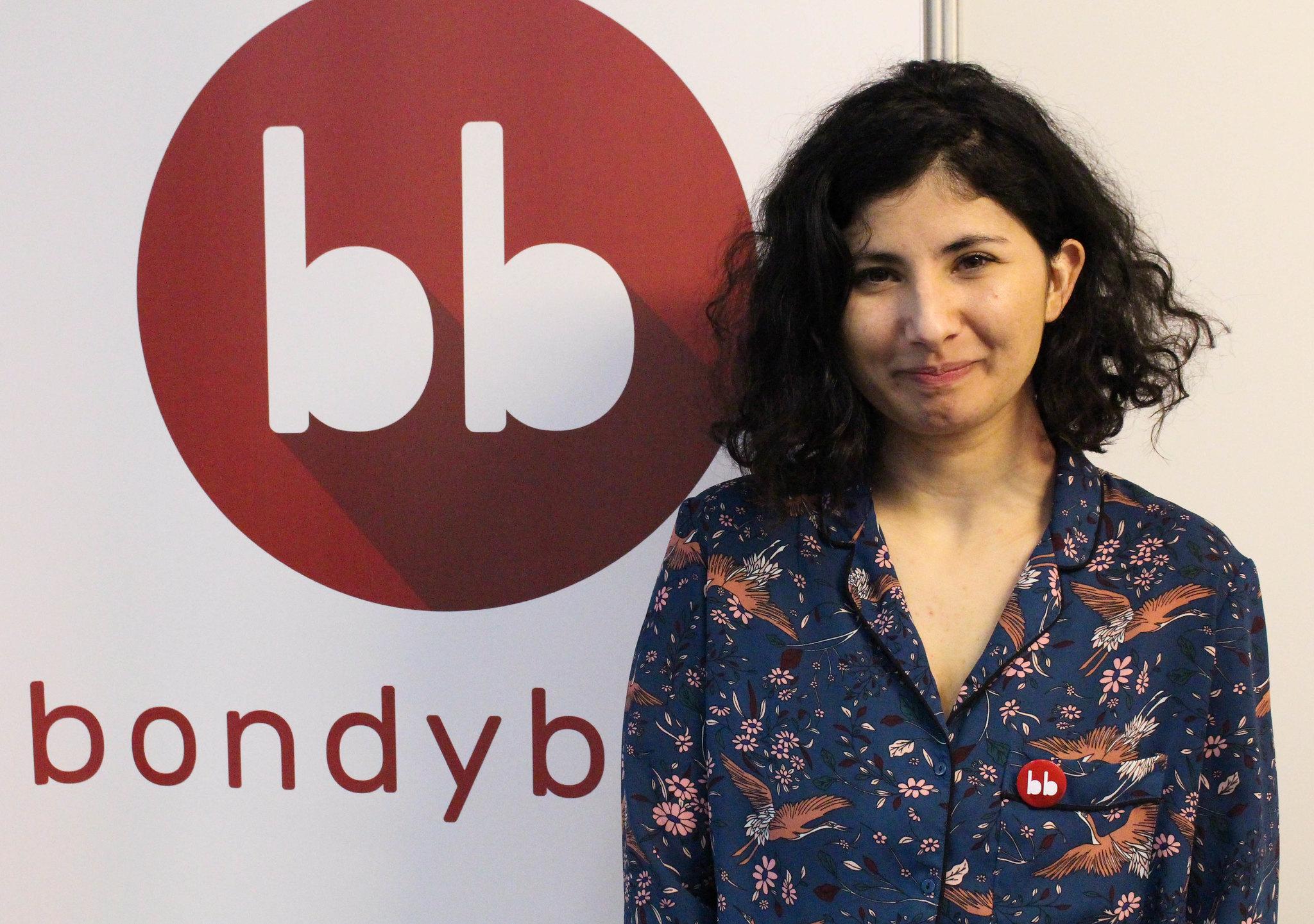 Leïla Khouiel défend un traitement médiatique non caricatural des quartiers populaires. Photo : Clara Gaillot