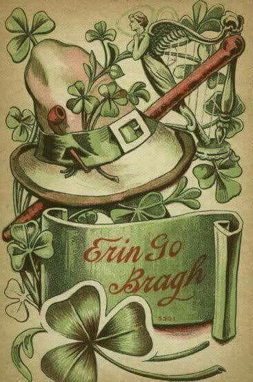 открытки ирландские сделать