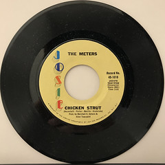 THE METERS:CHICKEN STRUT(RECORD SIDE-A)