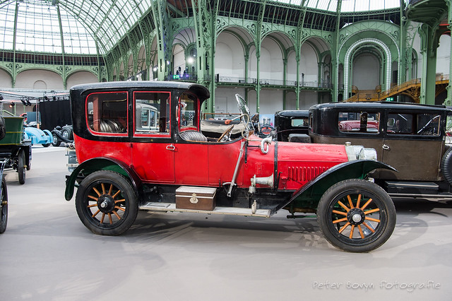 Minerva Model Z 38 HP Open Drive Limousine - 1911