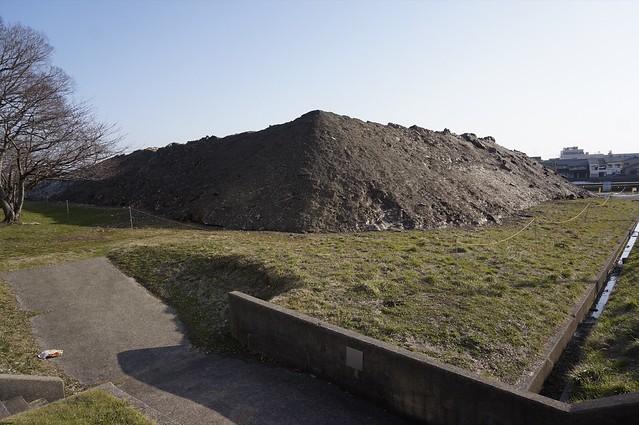 Black Mountain of Snow dump