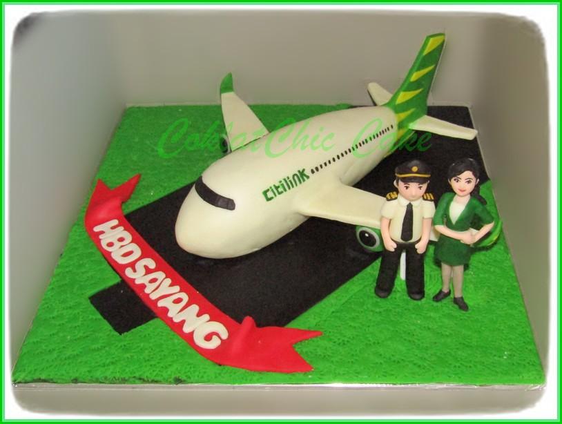 Cake Airlines Citilink 20 cm