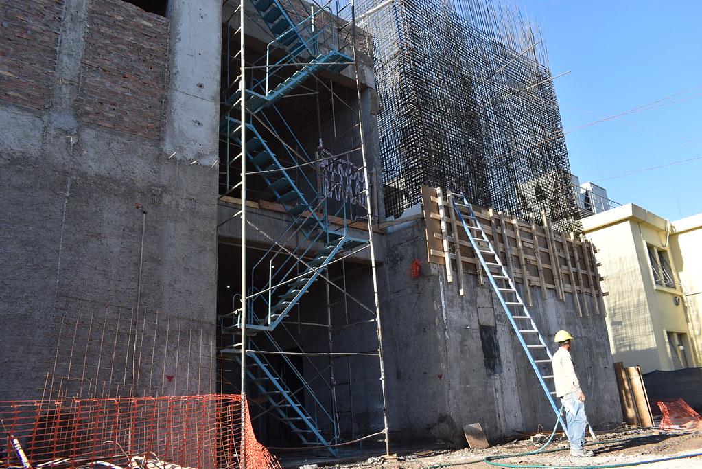 San Juan: Avanza la obra de ampliación en el hospital Marcial Quiroga