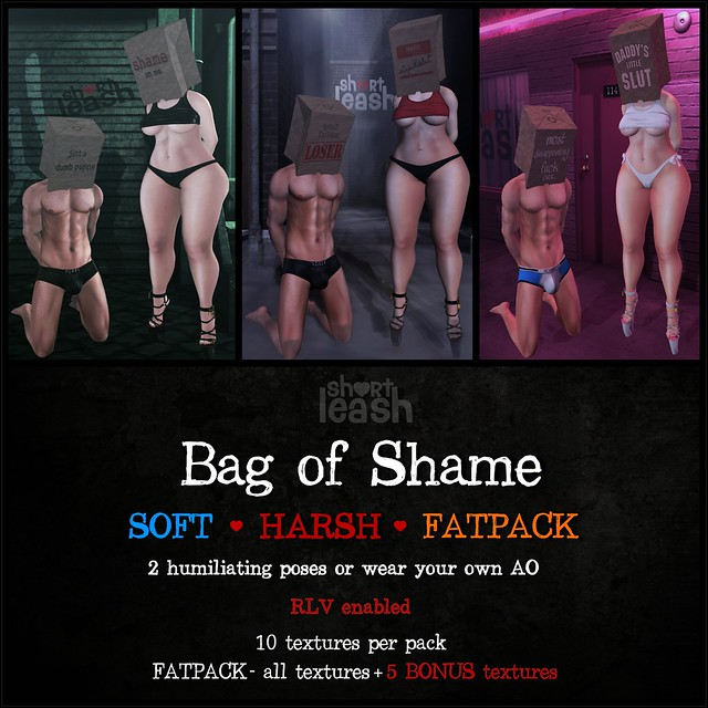 .:Short Leash:.  Bag of Shame - exclusive @ D23!