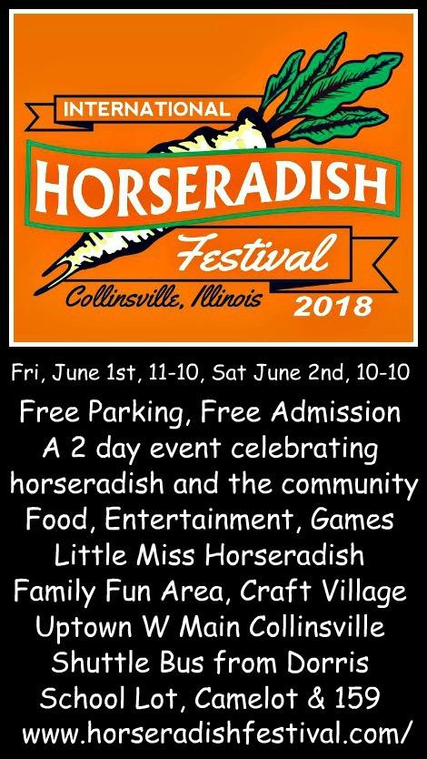 Horseradish Festival 6-1, 6-2-18