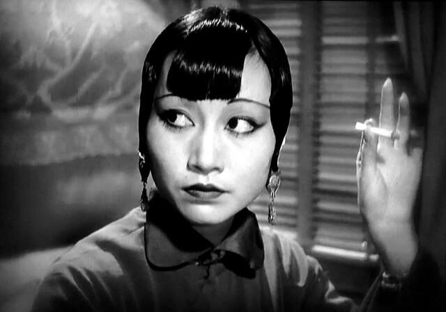 """Anna May Wong in """"Shanghai Express"""" 1932)."""