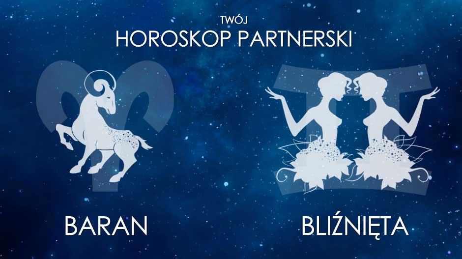 Horoskop partnerski: Baran + Bliźnięta