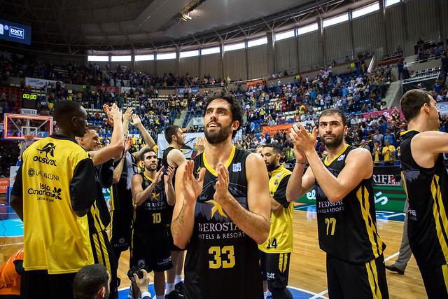 Las mejores imágenes del Canarias-Zaragoza en la galería ACB Photos
