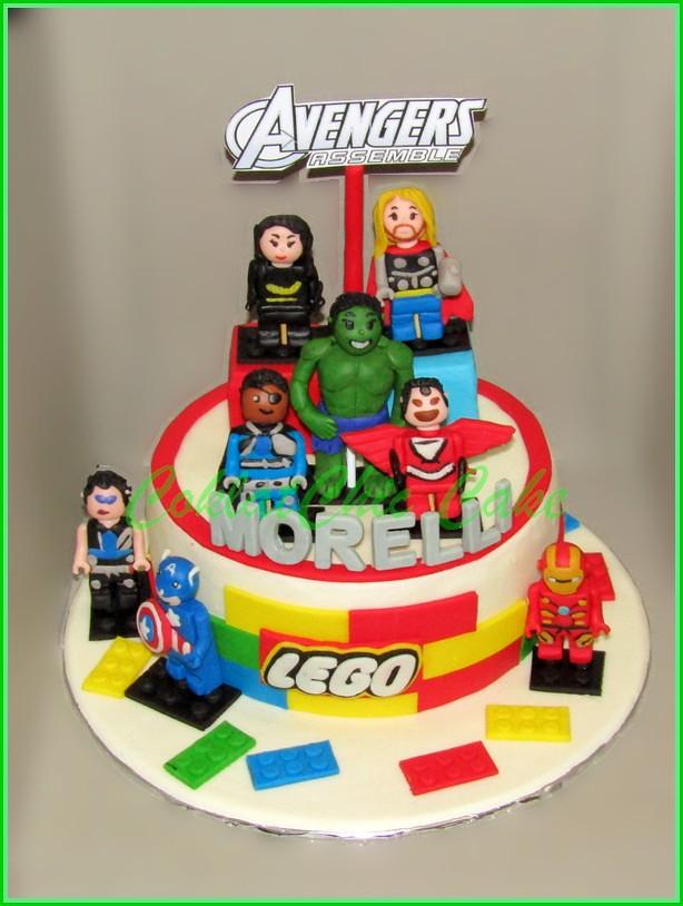 Cake Lego The Avengers MORELLI 20 cm
