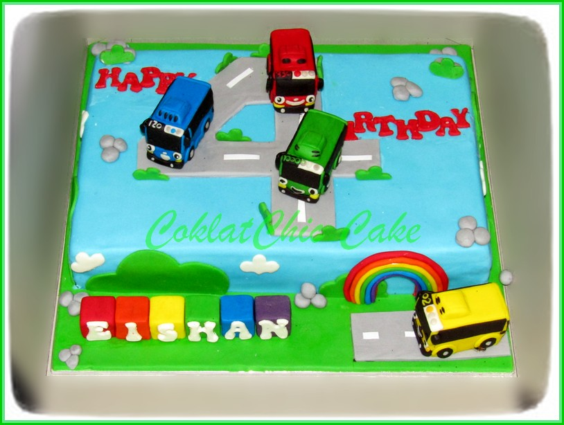 Cake Tayo The Little Bus EISHAN 18x27 cm