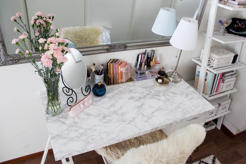 meikkauspöytä blogi