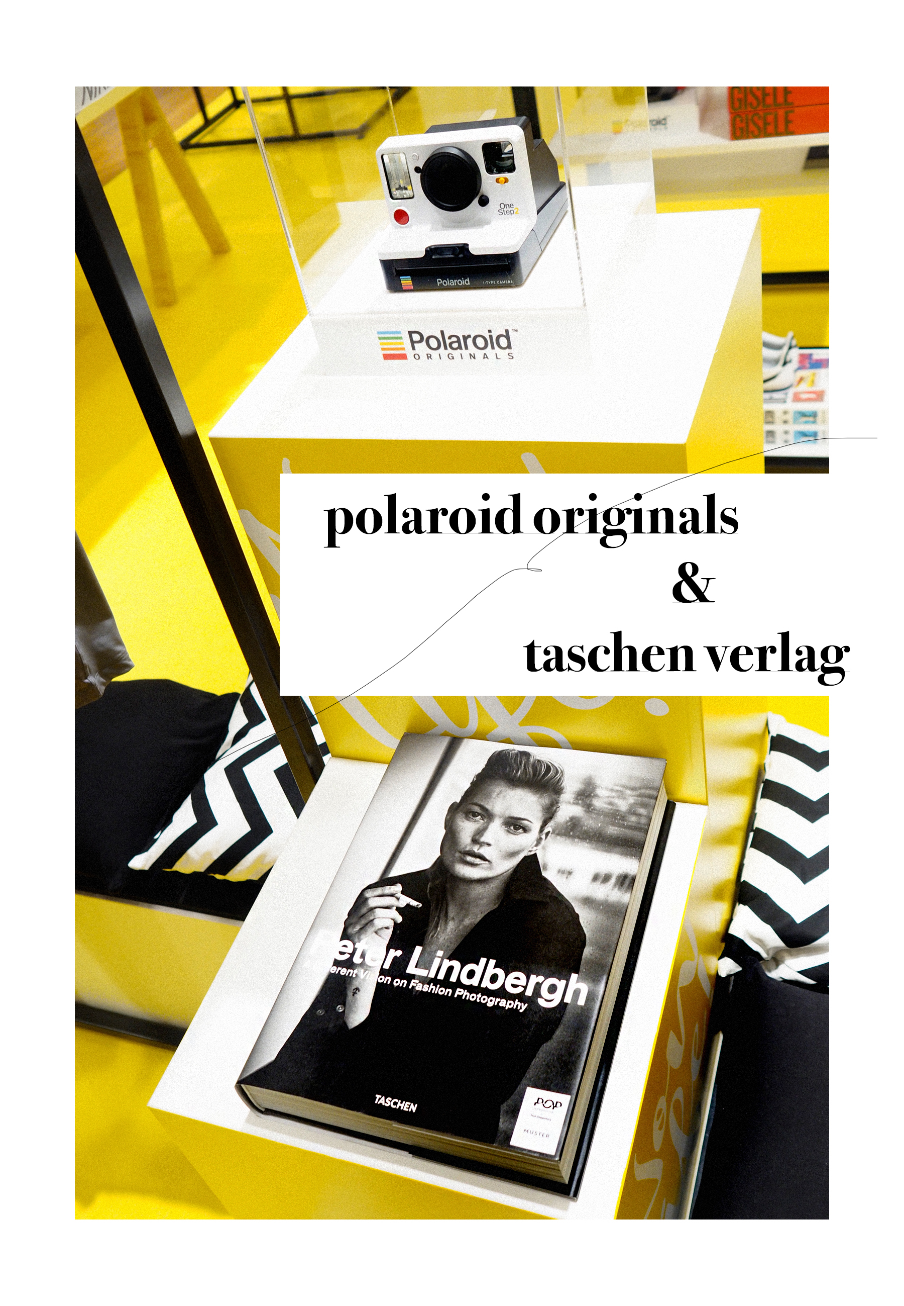 POP IMPRESSION by P&C Düsseldorf launch opening event polaroid originals eberjey marie-stella-maris taschen verlag nike popupstore popup peek&cloppenburg catsanddogsblog ricarda schernus modeblog fashionblogger dus nrw 5