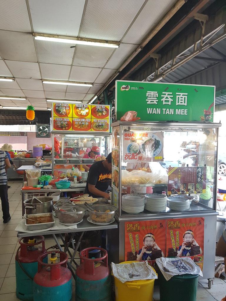 雞腳雲吞麵加水餃 $6.50+$2 @ 沅記 Guan Kee Wan Ton Mee at 新永顺茶餐室 Restoran Weng Soon Jaya USJ 17