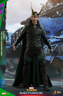 MCU 最迷人的反派登場!! Hot Toys - MMS472 -《雷神索爾3:諸神黃昏》洛基 Thor: Ragnarok Loki 1/6 比例人偶作品