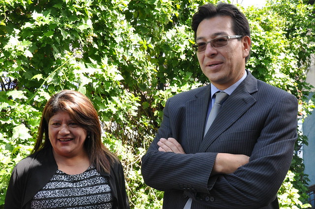 Recorrido del Ministro de Educación Fander Falconí en la Unidad Educativa República de Argentina - Amaguaña