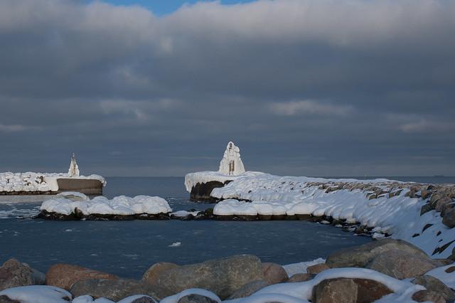 Frozen landmarks, Nikon D70, AF Nikkor 35mm f/2D