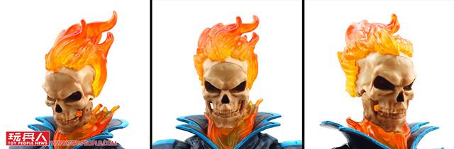 疾馳吧英雄們!復仇的惡靈鬼火 × 冷艷的漆黑蜘蛛! 孩之寶漫威傳奇系列6吋收藏人物與交通工具 開箱報告