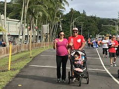 Hawaii Electric Light at the Hilo Heart & Stroke Walk - March 10, 2018: The Heart Walk is a fun, family-friendly event to support a good cause.