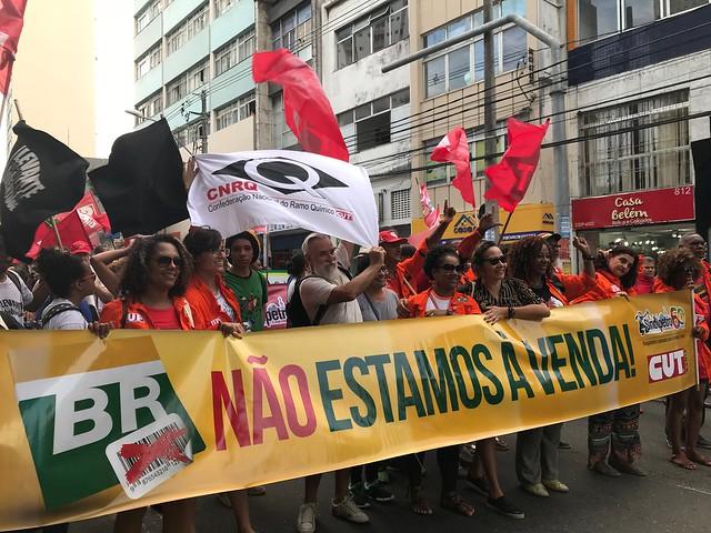 Multidão toma conta das ruas de Salvador (BA) na abertura do Fórum Social Mundial 2018 - Créditos: Catarina de Angola
