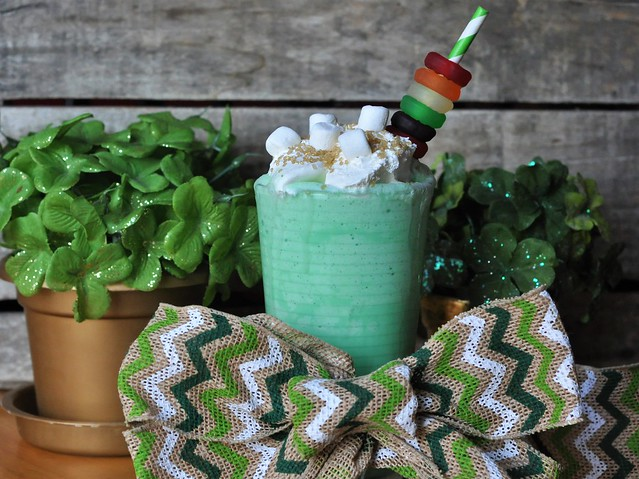 Deliciously Irresistible Vanilla Bean Shamrock Shake for St. Patrick's Day