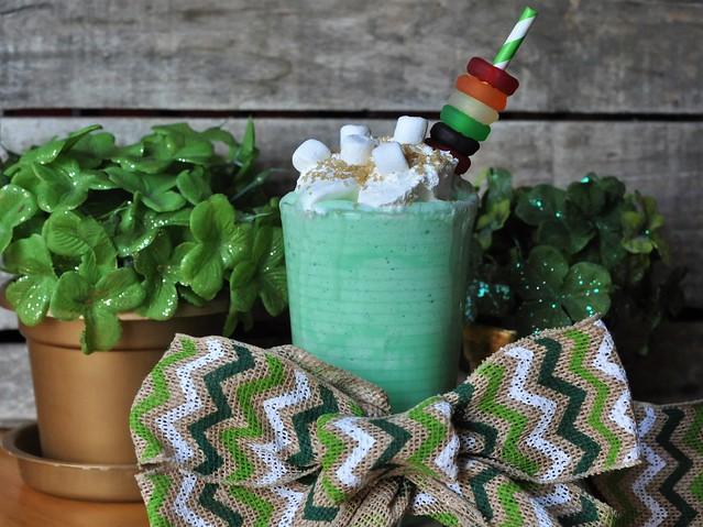 Deliciously Irresistible Vanilla Bean Shamrock Shake for St. Patrick's Day
