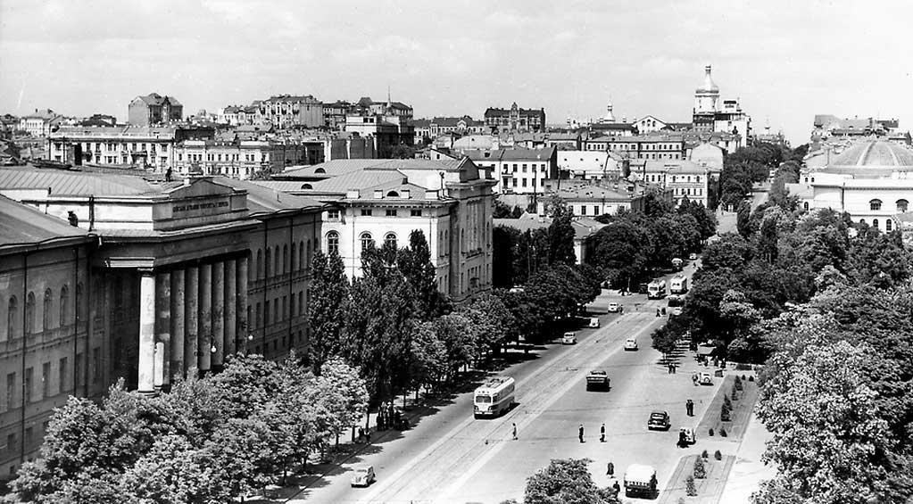 Улица Владимирская, 1950-е годы
