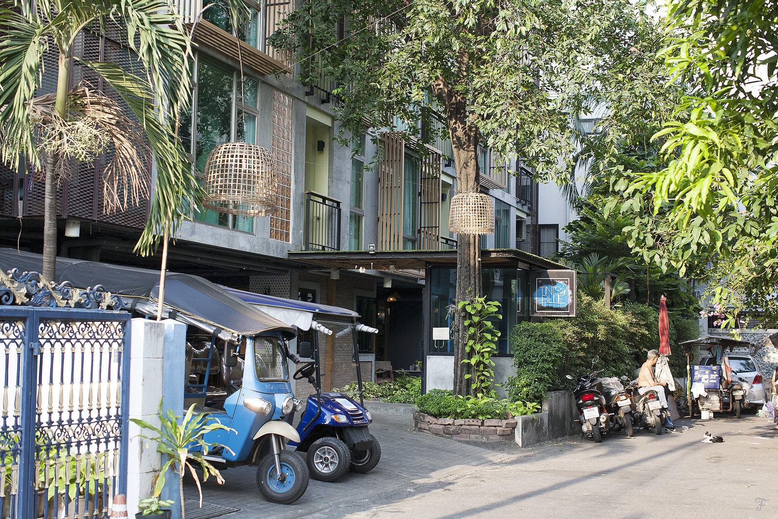 tints of blue residence bangkok thailand