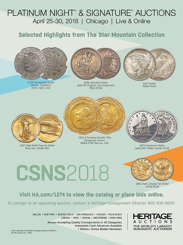 Heritage E-Sylum ad 2018-03-11