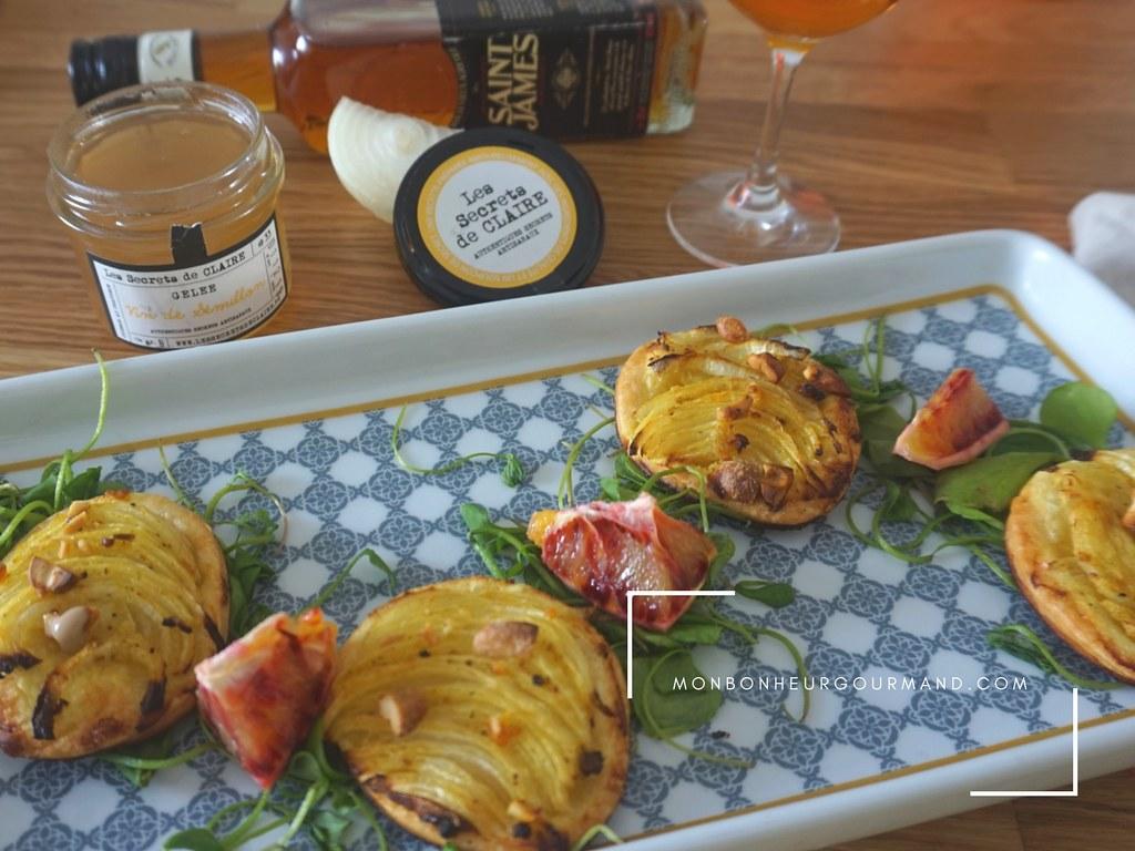 tarte fine aux oignons et truffe noire 2